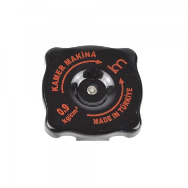 Radiator cap flat black 25mm CS1 / CS2 / CS 0 / DS Fiat 124 Spider / Coupe CC - radiator cap