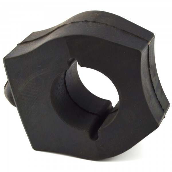 Rubber stop rear right side left Fiat 124 Spider - rubber buffers