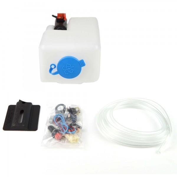 Lavare sacchetto bianco con pompa elettrica Fiat 124 Spider