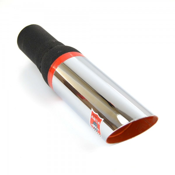 Tailpipe exhaust Ansa tail - length: 27,7cm / Diameter: 42mm