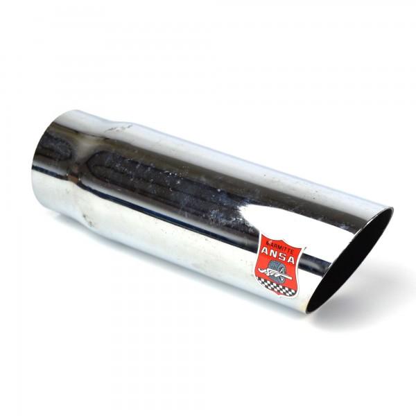Del tubo de escape de escape Ansa cola - longitud: 18,5 cm / diámetro: 5,1 cm