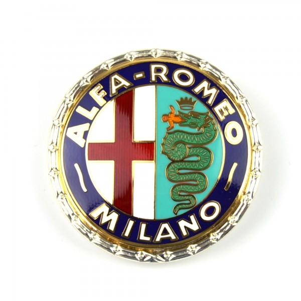 Ronda emblema de Alfa Romeo Milano esmaltado