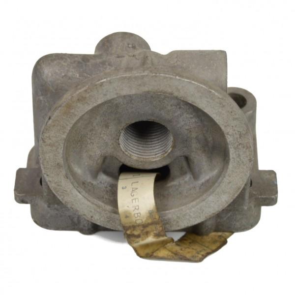Soporte para un filtro de aceite 2 puertos 66-75 Fiat 124 Spider - brida del filtro de aceite