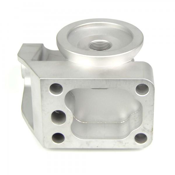 Support pour filtre à huile et Lima 75-85 (type amélioré) Fiat 124 Spider - bride de filtre à huile