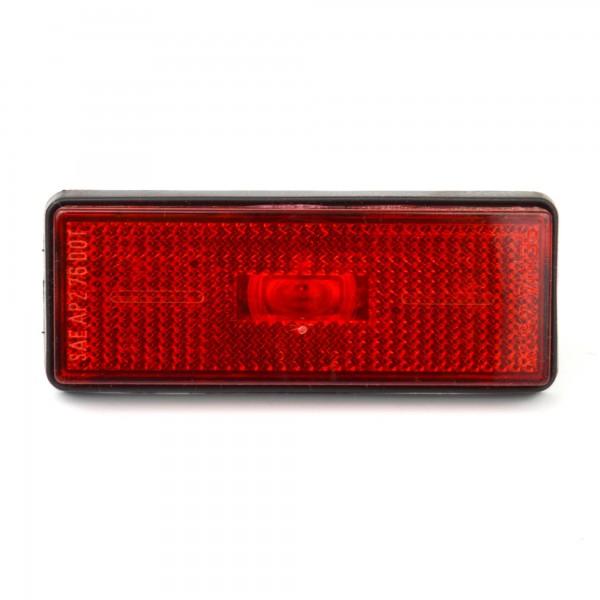 L'indicatore di direzione laterale US rosso 79-85 Fiat 124 Spider