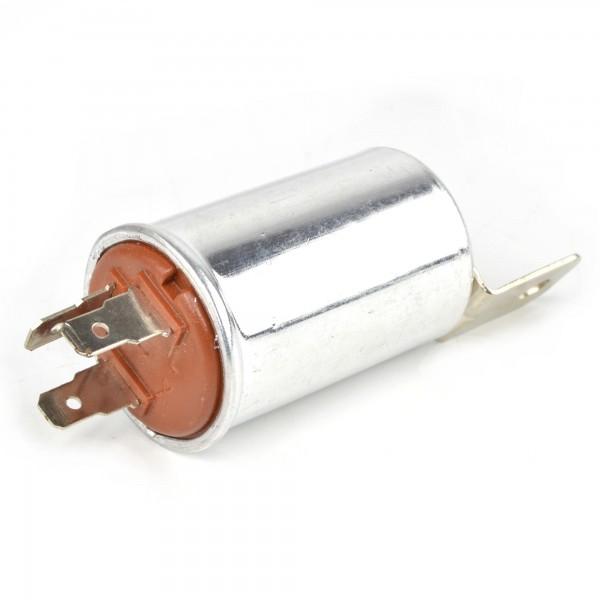 Clignotant / clignotant / avertissement relais de clignotant (rond) Fiat 124 Spider