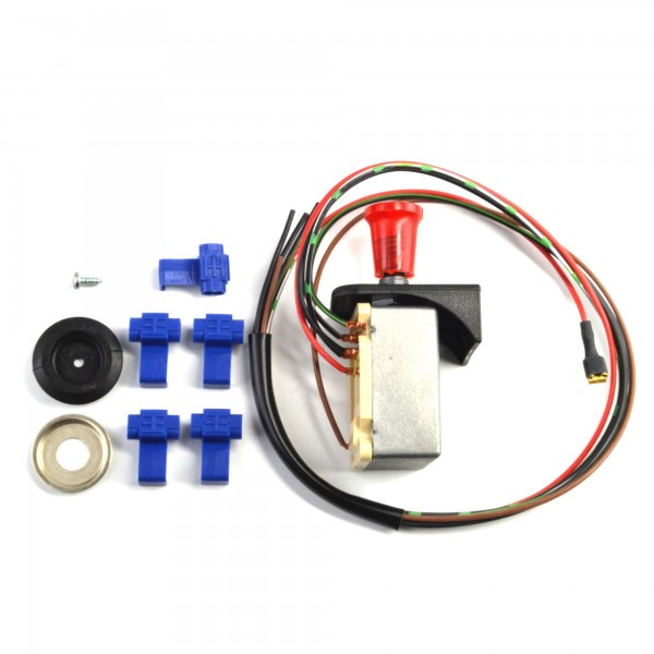 Hazard switch Hella / Bosch for retrofitting Fiat 124 Spider